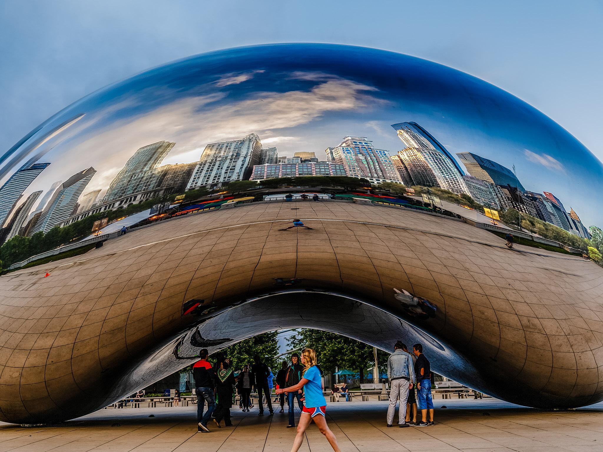 La Alubia de Anish Kapoor, Chicago